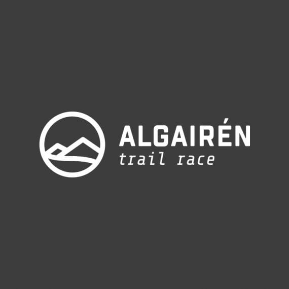 logotipo Algairén Trail Race